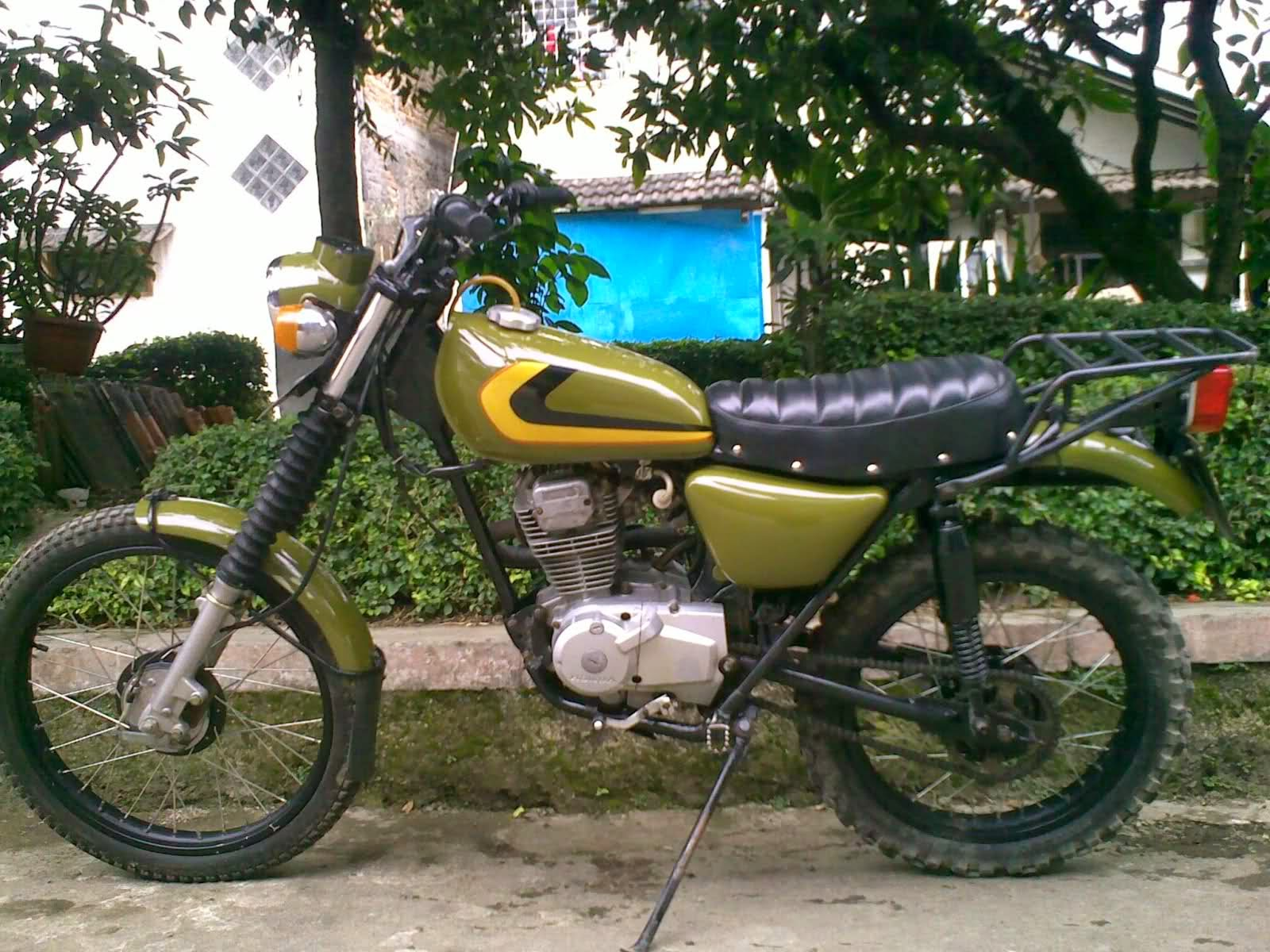 Honda Gl Max Modifikasi Jap Style Thecitycyclist