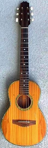 old Hawaiian Guitarlele at Lardys Ukulele Database