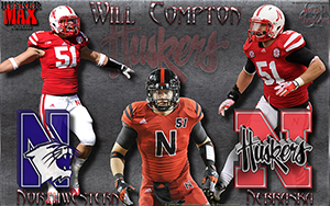 Nebraska Vs Northwestern Gameday Wallpaper
