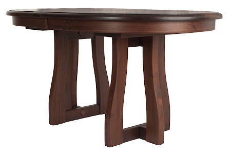 60 x 36 Brewster Dining Table in Winter Walnut