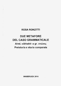 Due metafore del caso grammaticale, 2014]