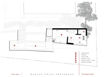 Banyan Treehouse by Rockefeller Partners Architects 14 Rumah Pohon Modern Yang Tidak Dibangun Di Atas Pohon