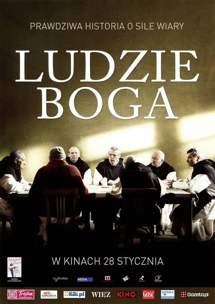 Ulotka filmu 'Ludzie Boga (przód)'