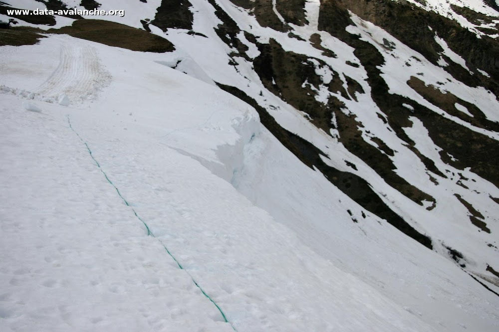 Avalanche Maurienne, secteur Ouillon, Col du Glandon - Photo 1