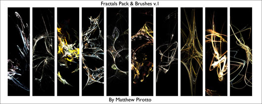 Fractals and Fractal Brushes, de MatthewP