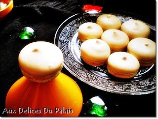 Meringues au citron de Christophe Felder imitation macarons - recette indexée dans les Divers