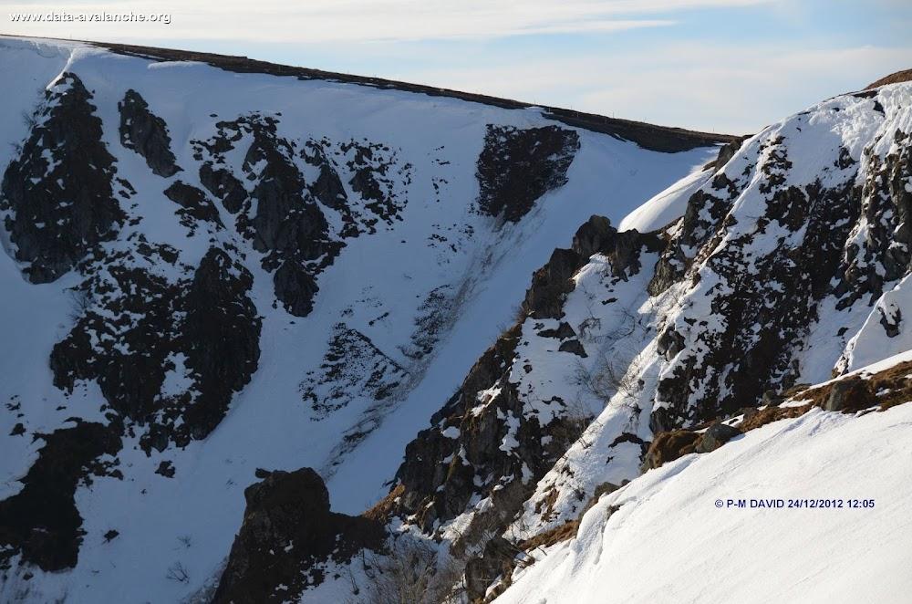 Avalanche Vosges, secteur Hohneck, Col de Falimont - Photo 1