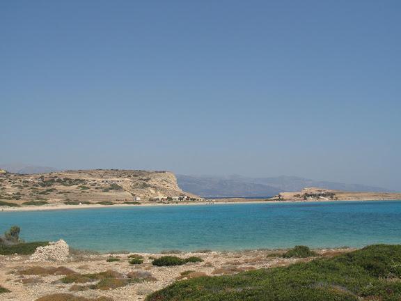 Bahía de Pori en Pano Koufonissi