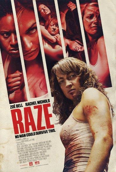 Poster Of English Movie Raze (2013) Free Download Full New Hollywood Movie Watch Online At Alldownloads4u.Com