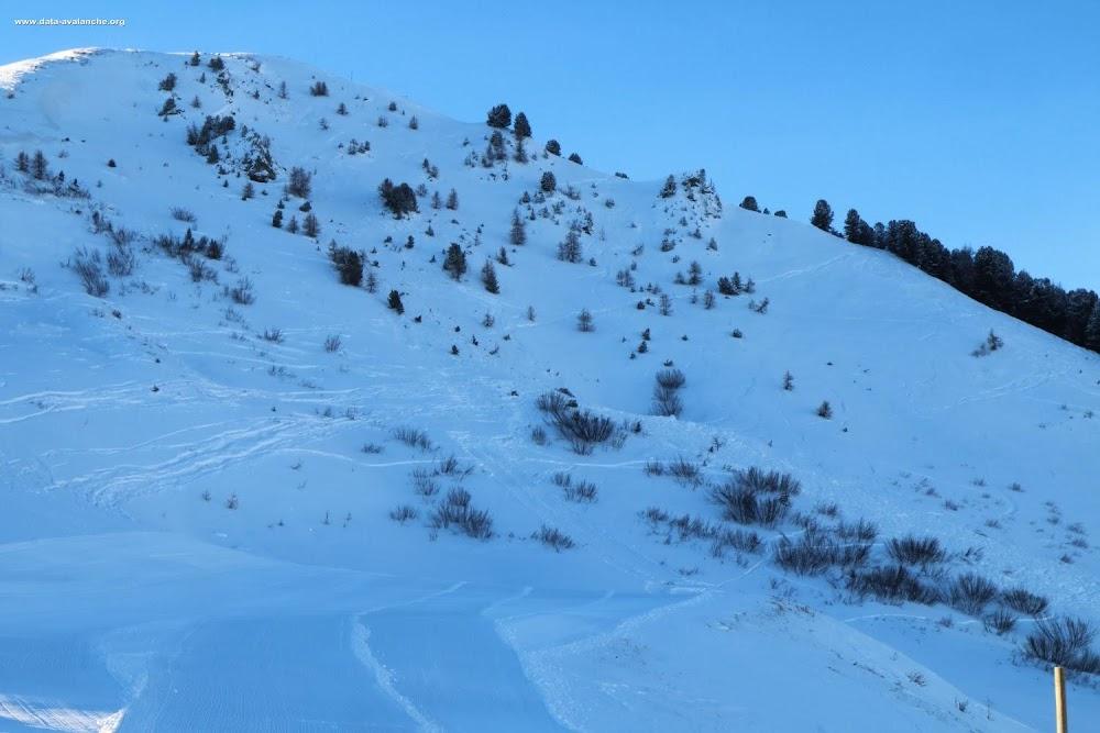 Avalanche Vanoise, secteur La Plagne, Secteur hors-piste au niveau du village Plagne-Aime 2000 - Photo 1