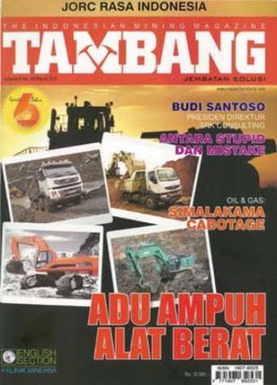 Majalah Tambang Edisi Maret 2011
