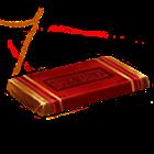 Una barretta di cioccolato