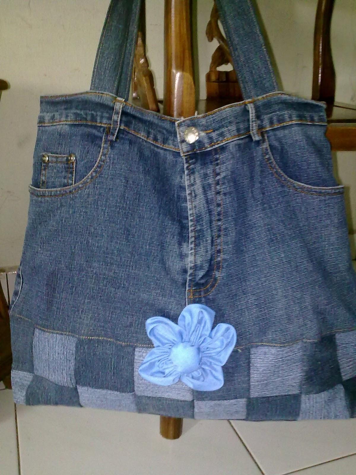 Jeansranggi Bag Cara Menjahit