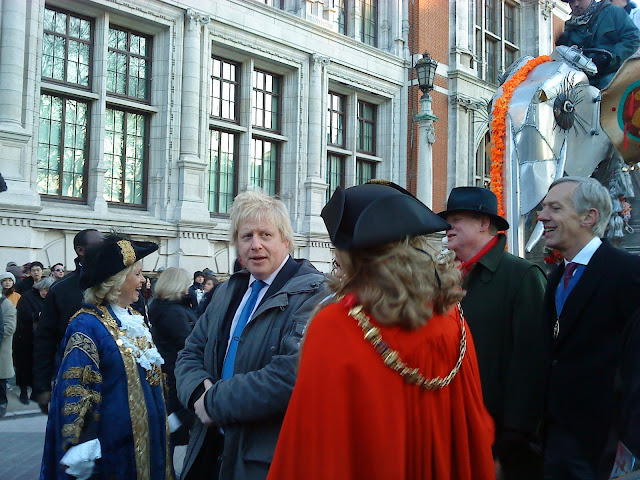 Boris, dignitaries and a tin elephant