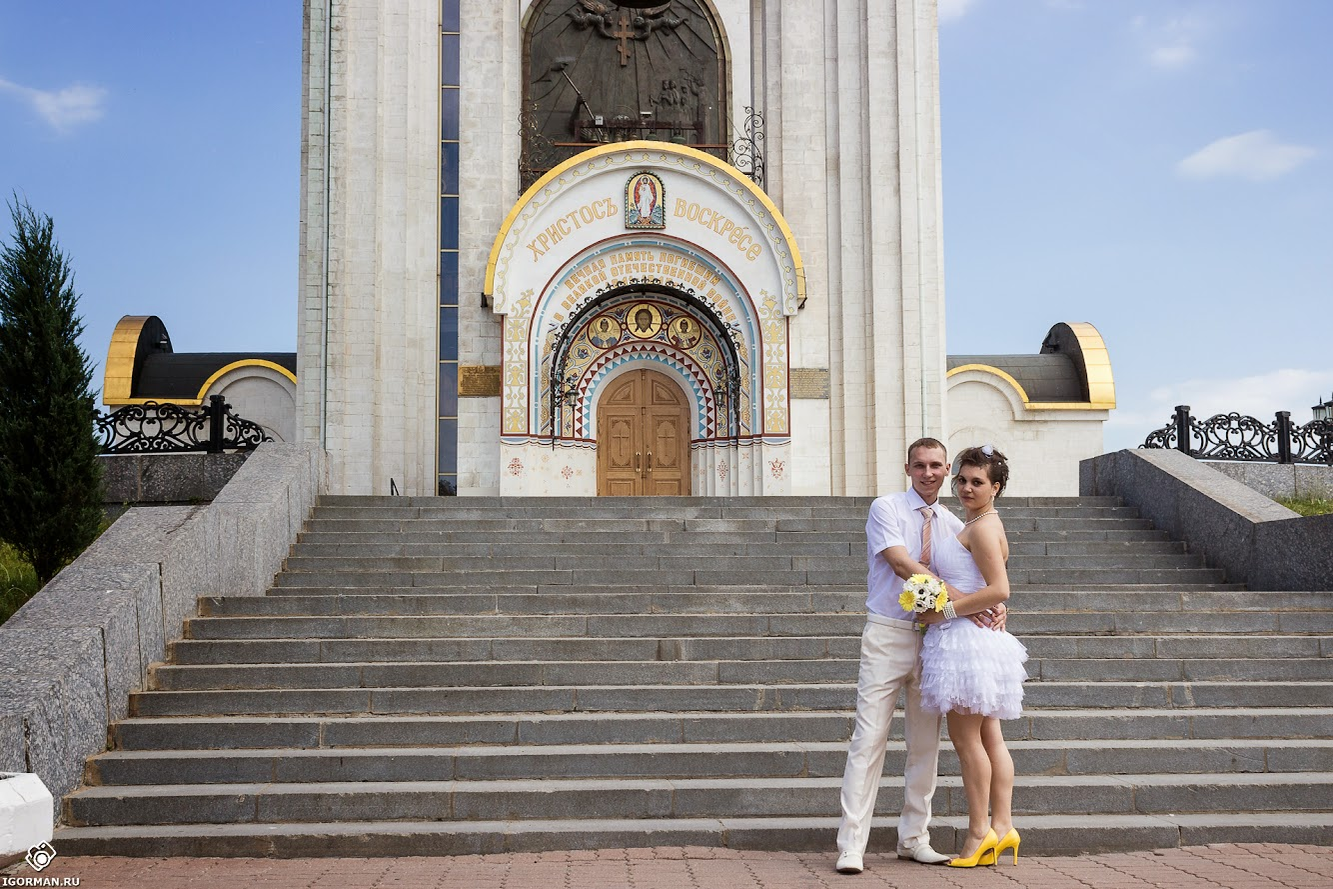 Профессиональная свадебная фотосессия