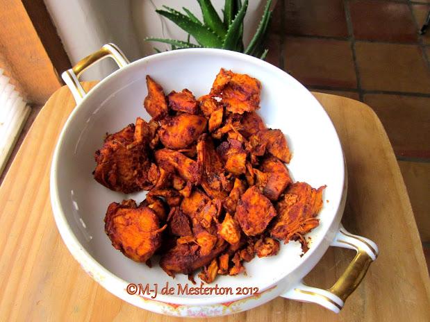 M-J's Original Recipe for Spanish Smoked Paprika Sauce, Coming Soon to Elegant Survival News