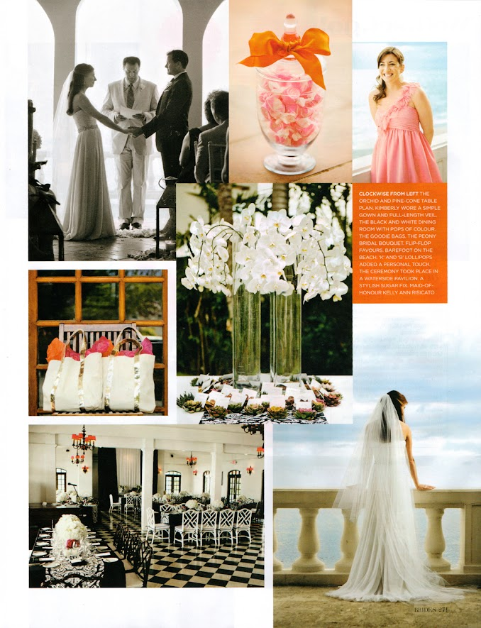 Brides Magazine May/June Issue Studio 1208 (Maria Bentley) feature