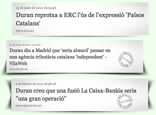 Font: Ara,Vilaweb i El Punt Avui
