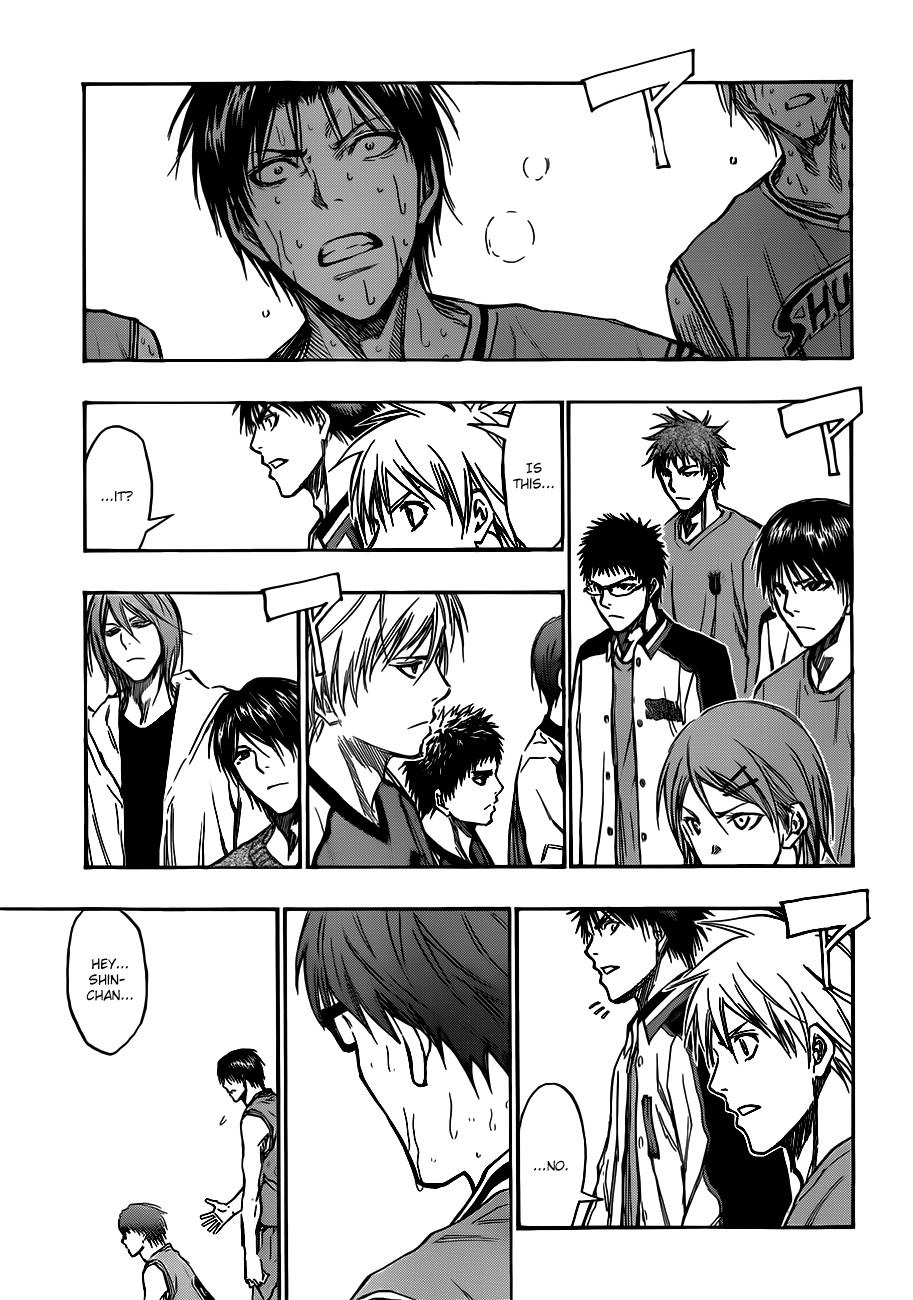 Kuroko no Basket Manga Chapter 179 - Image 15
