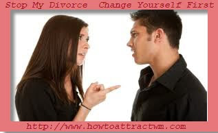 Stop My Divorce Change Yourself First