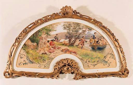 莫里斯勒卢瓦尔法国插画家Maurice Leloir  (French, 1853-1940) - 柳州文铮 - 柳州文铮股票数学模型对冲基金