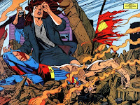 Image from The Death of Superman DC Comics event
