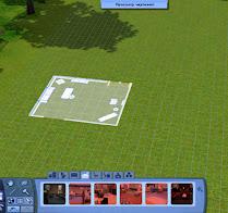 Как в симс 3 построить дом, используя чертежи
