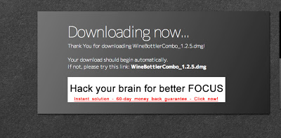 WineBottler Downloading