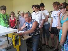 Школярі відвідали підприємство з виготовлення поліграфічної продукції. Фото