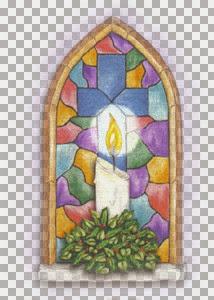 Christmas window-----Laufey.jpg