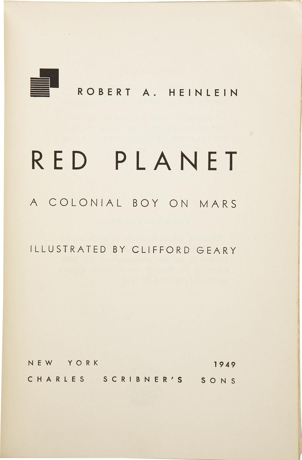 cover page for a book