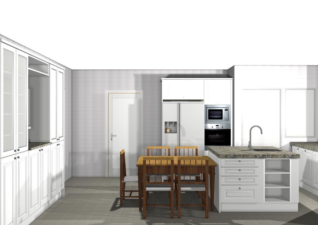 Dise o y decoraci n de cocinas marzo 2011 for Cocina integrada
