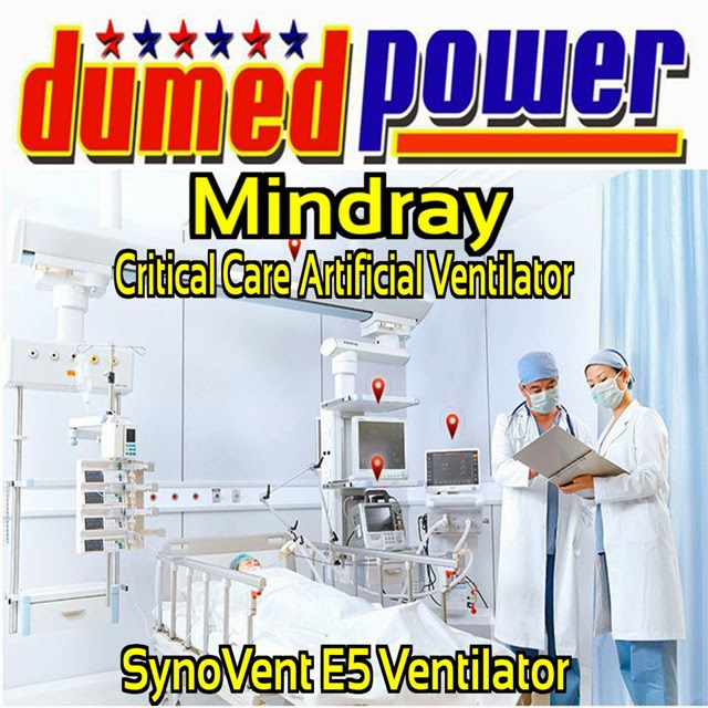 Mindray-SynoVent-E5-Ventilator-Bayi-Anak-Hingga-Dewasa-Interface-Made-in-China