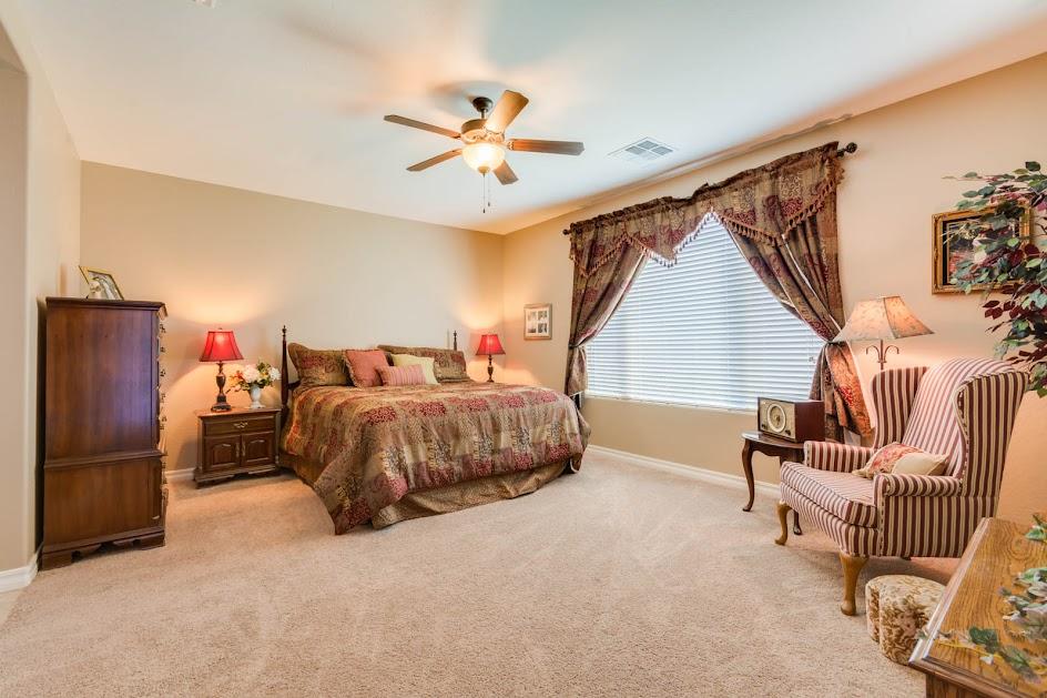 New Home in Gilbert AZ master bedroom