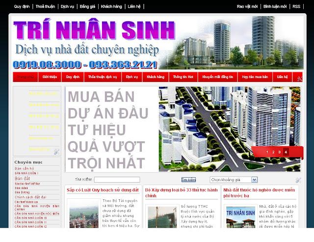 Dự án thiết kế website doanh nghiệp 04