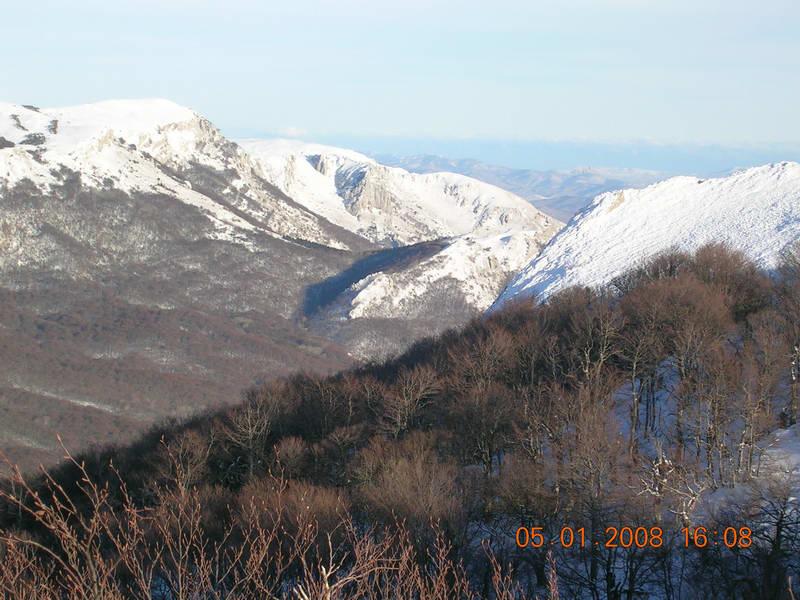 Зимний Крым. Январь 2008