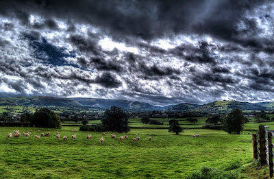 The Severn Valley in Montgomeryshire, Powys, Mid Wales ©OwainBetts