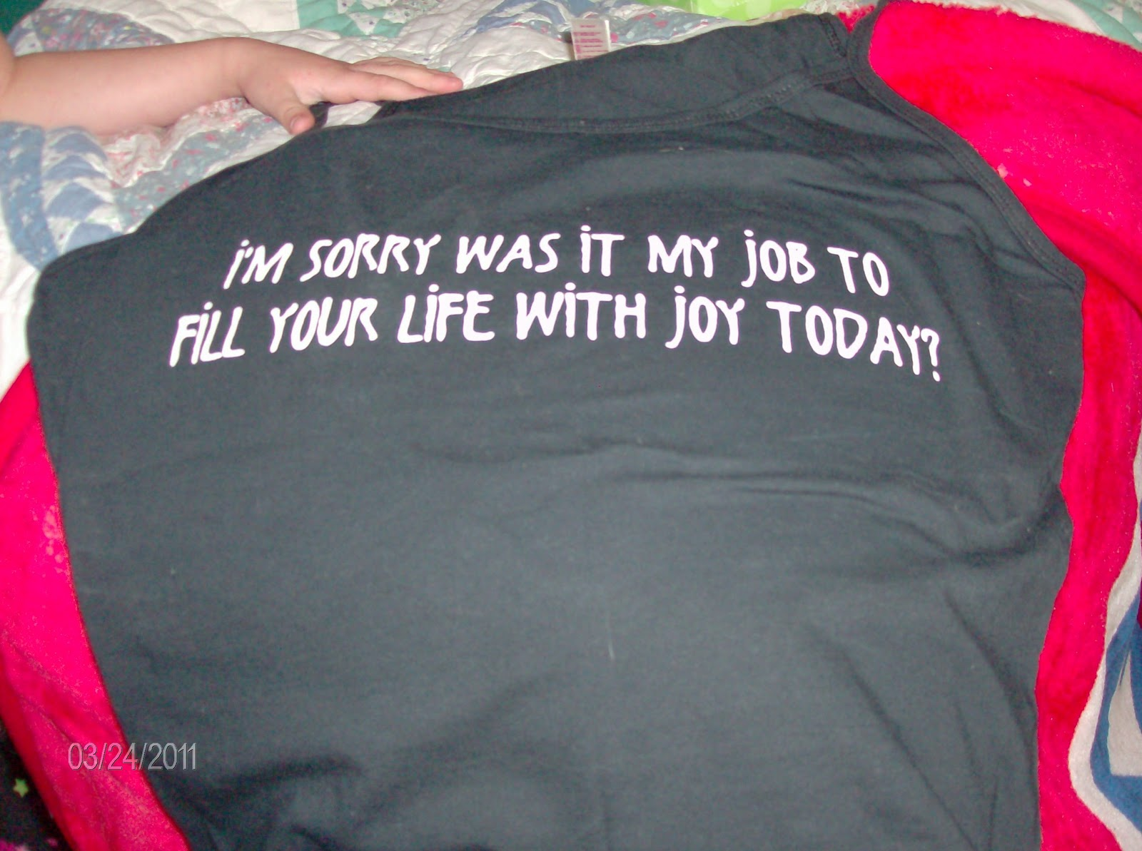 Woman of hope and prayer bad idea t shirt review