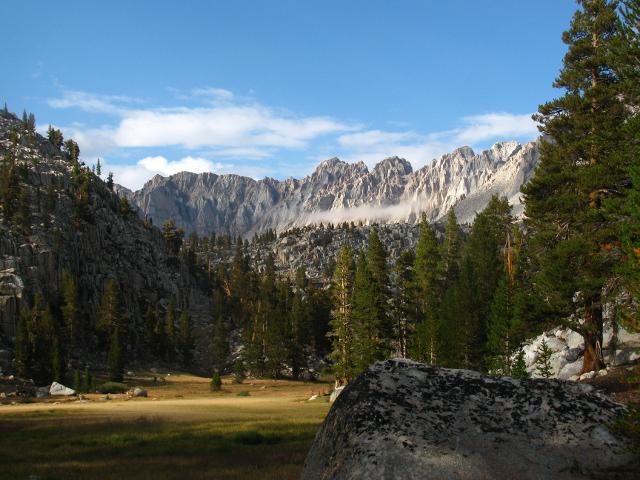 meadow below Soldier Lake
