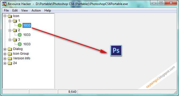 Hướng dẫn tạo file ICON từ file EXE bất kỳ