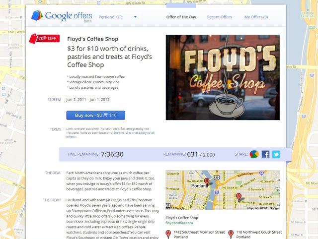 Google Offers Portland Retire by 40