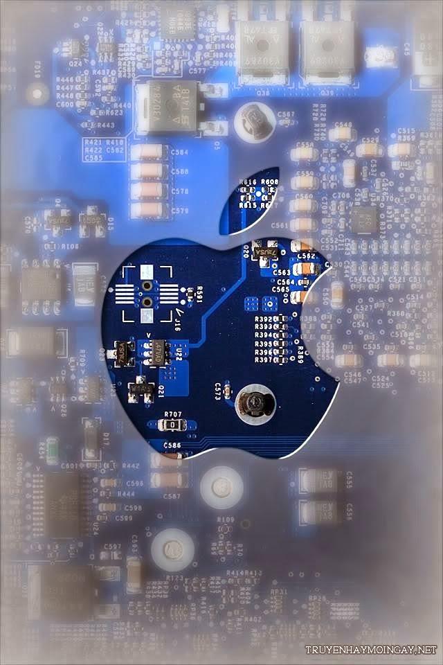 Tuyển Tập Logo Apple Làm Hình Nền iPhone 5 Cực Chất