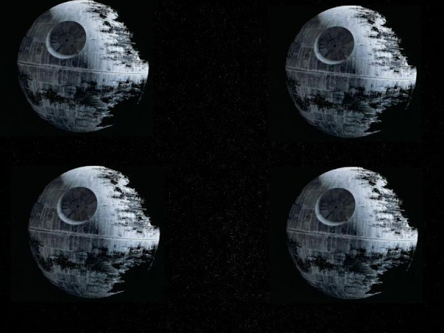 4 identical Death Stars