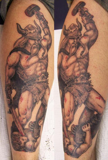 Viking Tattoo-Scandinavian Viking Tattoos Arts
