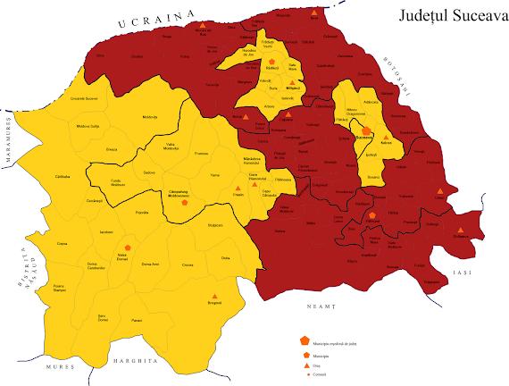 Harta candidatilor USL la Camera Deputaţilor în judeţul Suceava