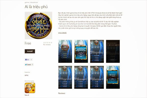 Qplay tham gia vào sân chơi mới Windows Phone 1
