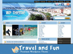 Travel And Fun Free Wordepress Theme