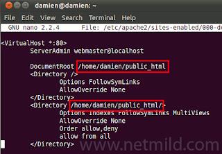 apache edit virtual host Cara Menginstal Dan Mengkonfigurasi Apache Di Ubuntu