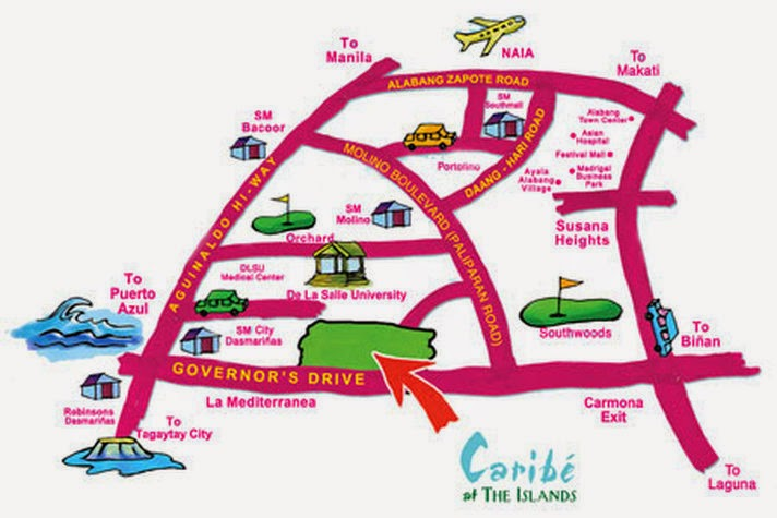 CROWN ASIA PHILIPPINES Caribe at The Islands Lladro – Map of Asian Islands