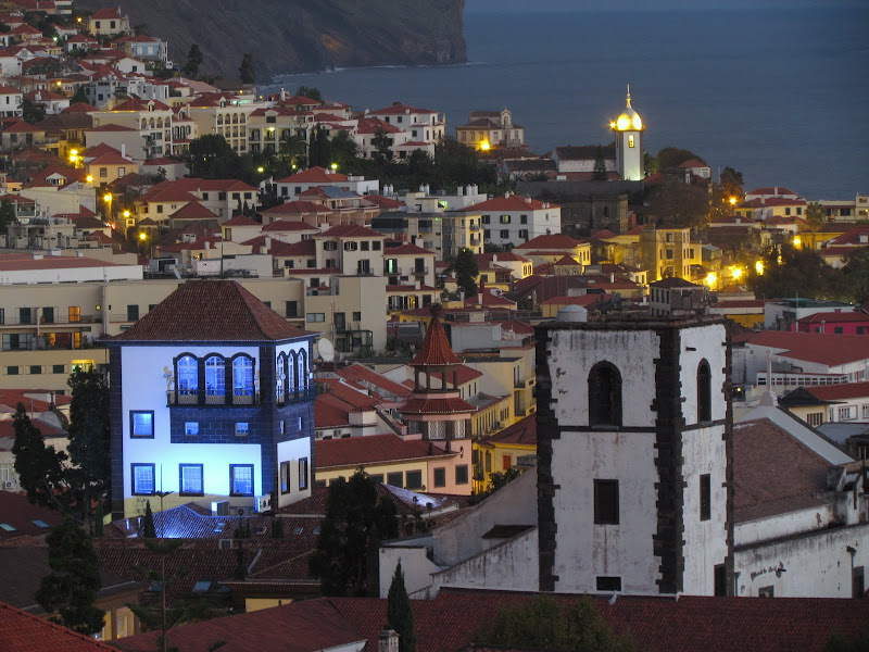 Funchal night view